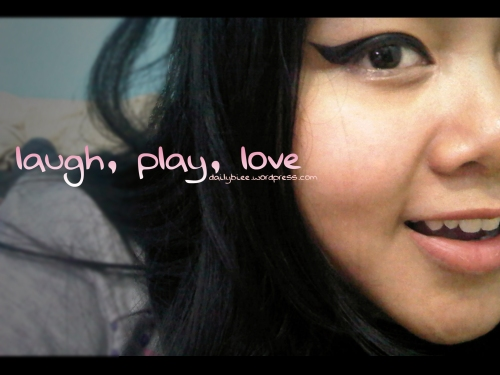 laugh play love