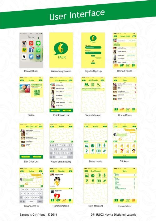 user interface banana talk
